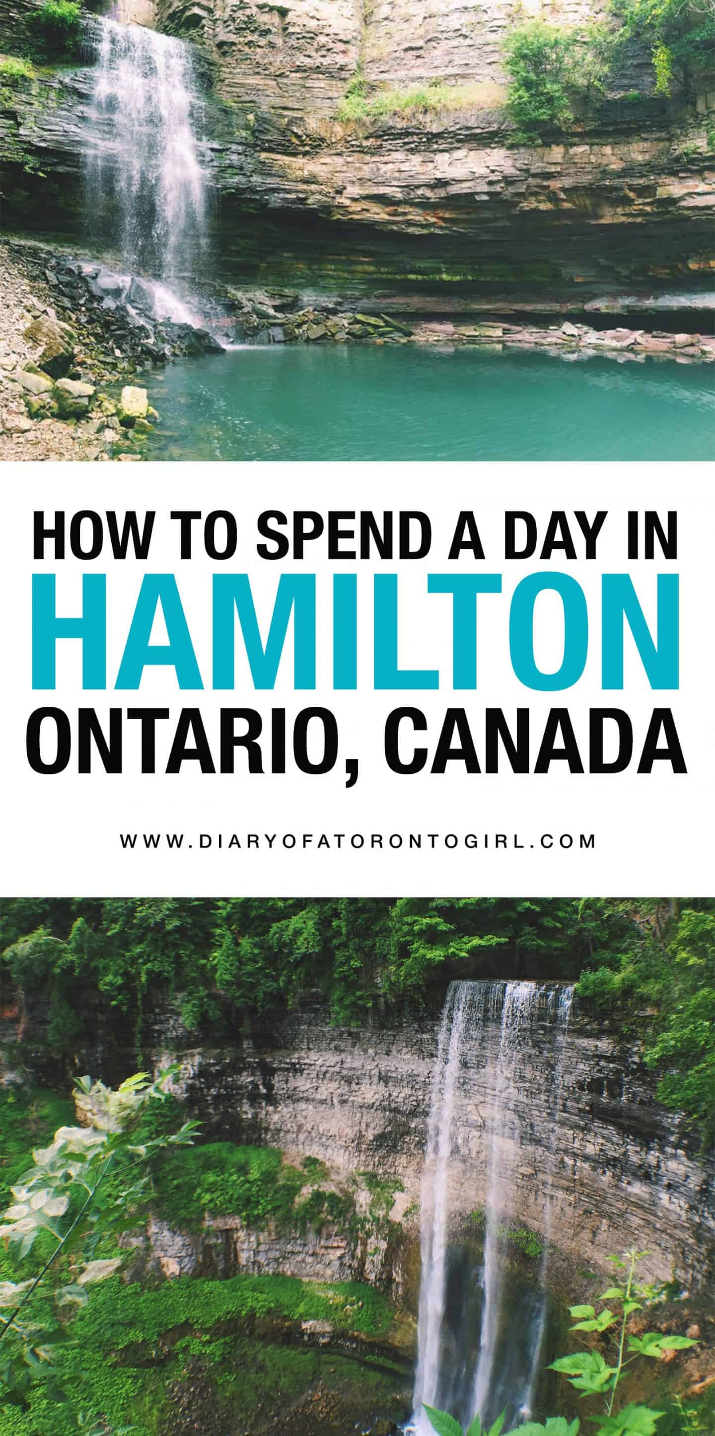 How to spend the perfect day exploring waterfalls and nature in Hamilton, Ontario!
