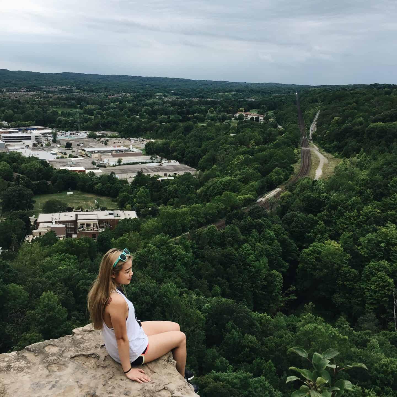 Dundas Peak in Hamilton, Ontario