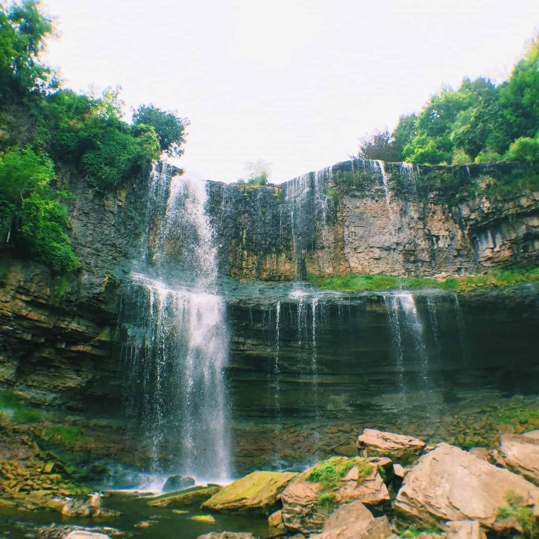 Webster Falls in Hamilton, Ontario