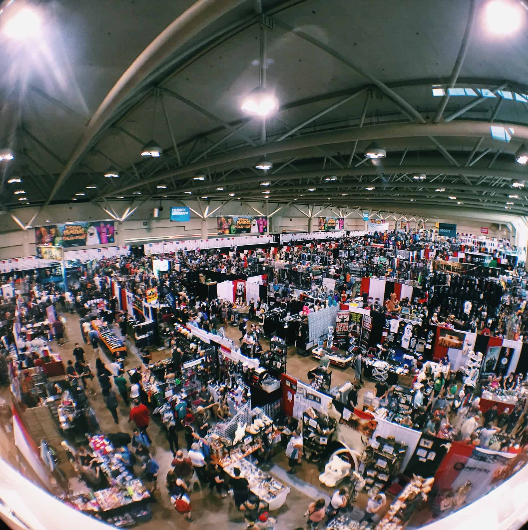 Metro Toronto Convention Centre Fan Expo 2015
