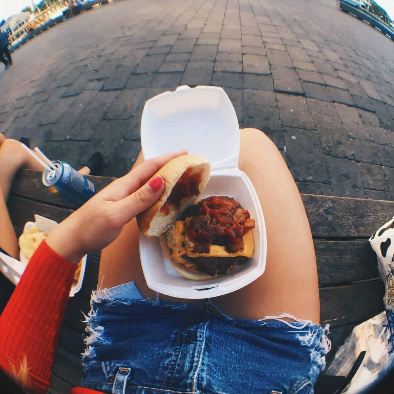 Holy Chuck Burgers in Toronto, Ontario
