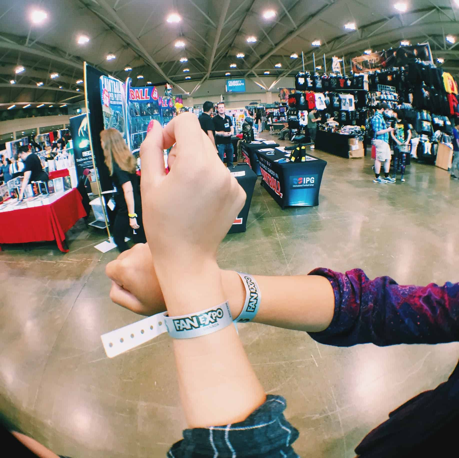 Fan Expo 2015 Wristbands