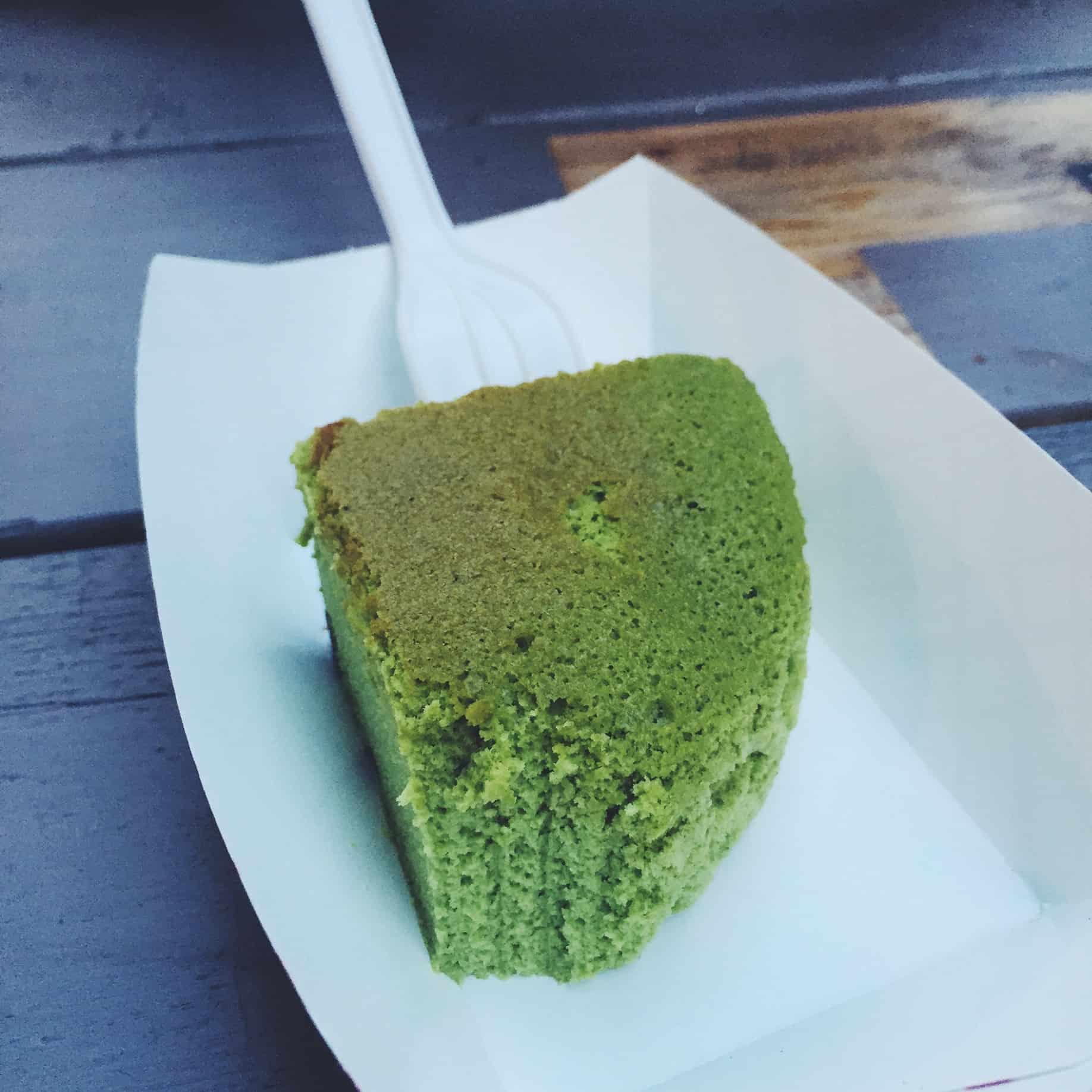 Uncle Tetsu Matcha Cheesecake