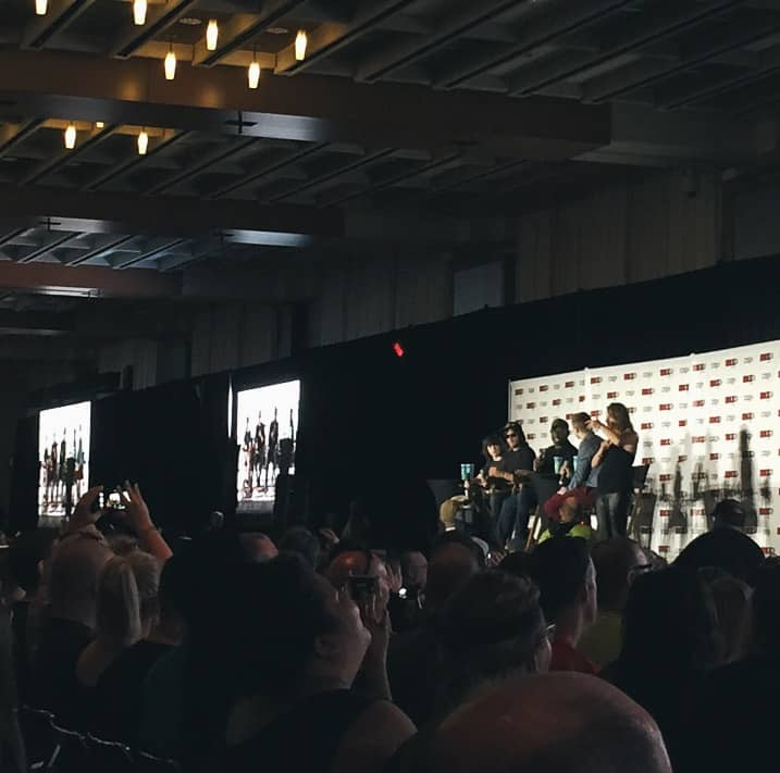 The Walking Dead panel at Fan Expo Canada