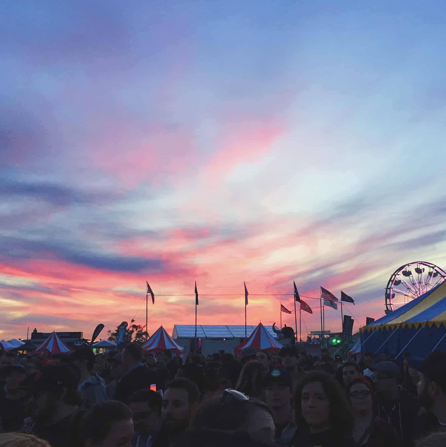 Riot Fest Music Festival in Toronto, Ontario
