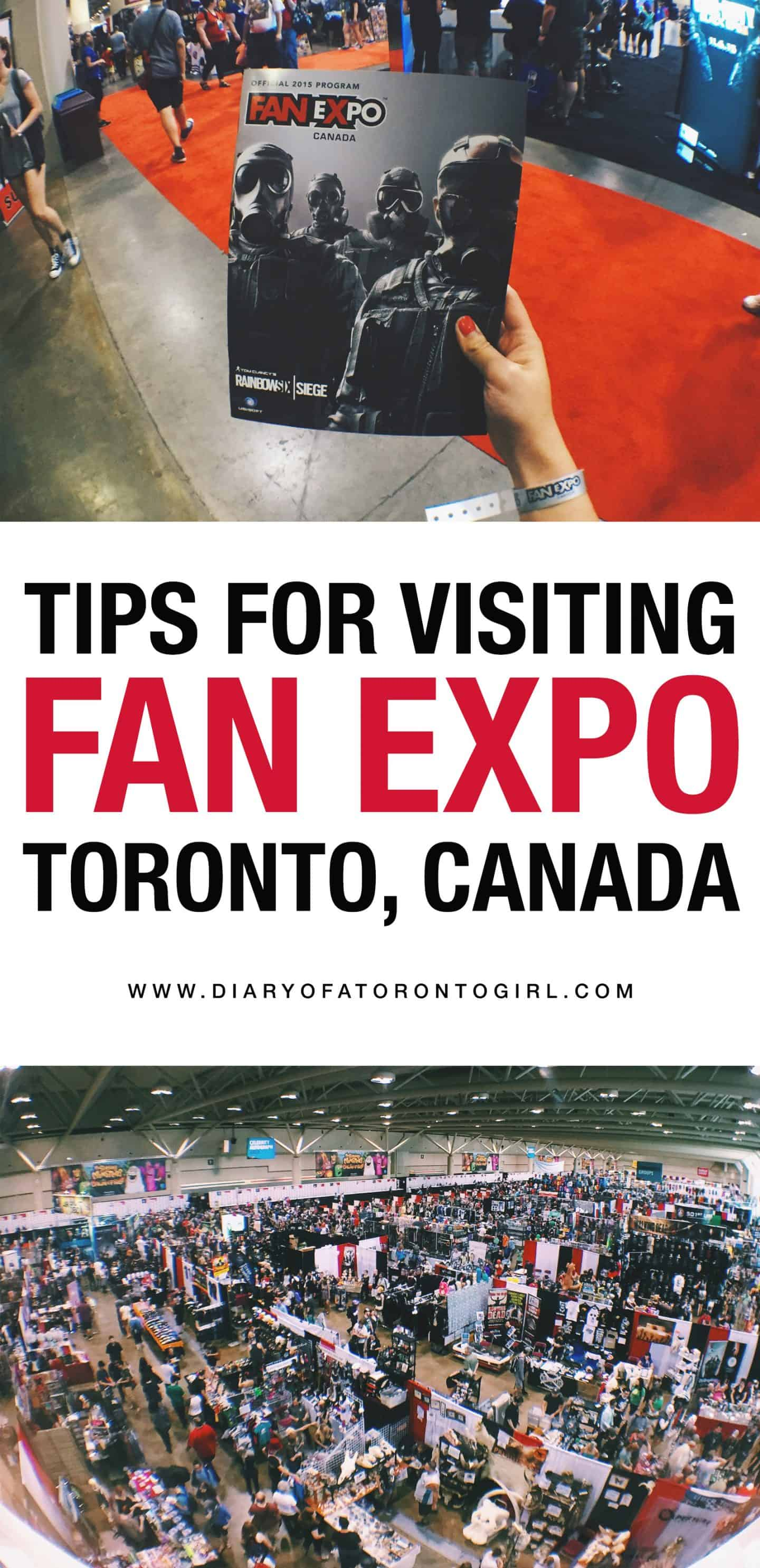 Looking to visit Fan Expo in Toronto, Canada? Here's a guide on what to expect for your first visit, as well as tips and things you should know!