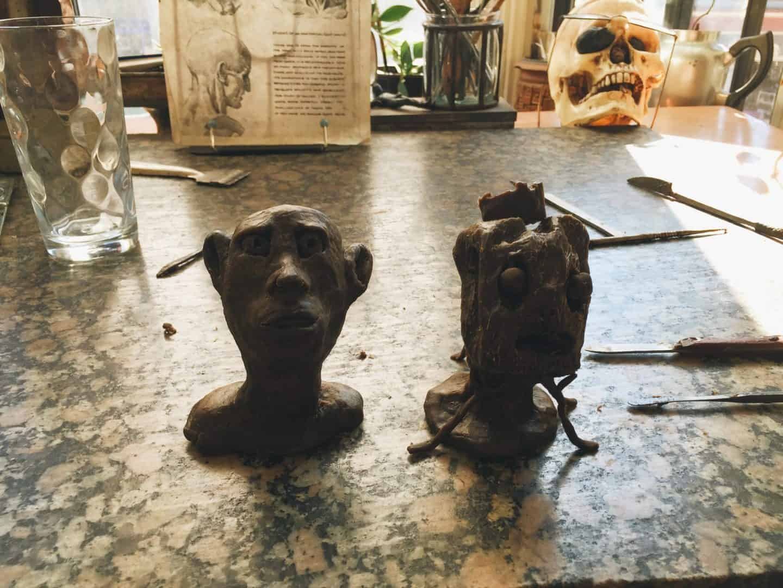 Wax sculpture making in Toronto