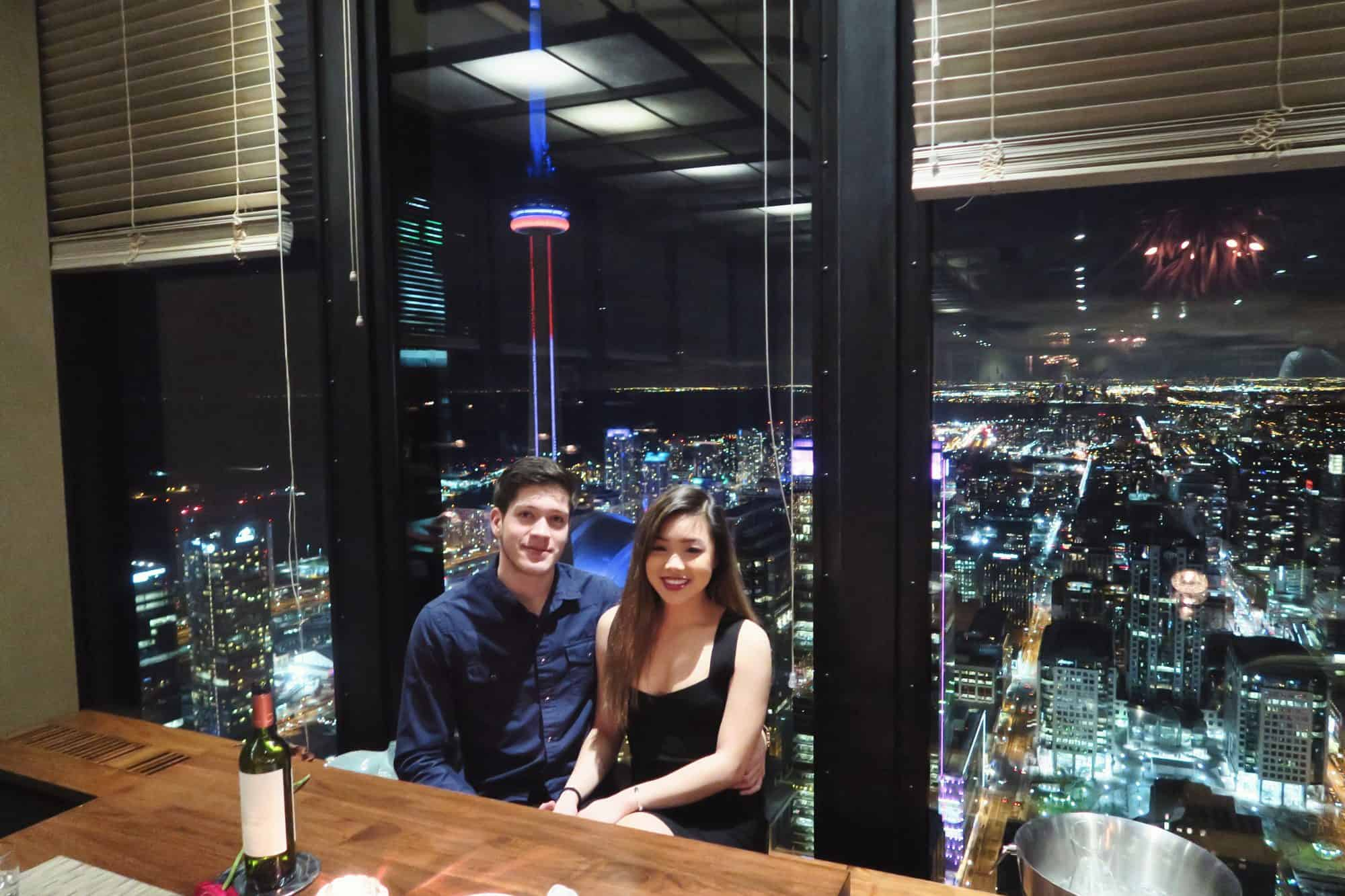 A review of Canoe Restaurant in Toronto and their set Valentine's Day menu