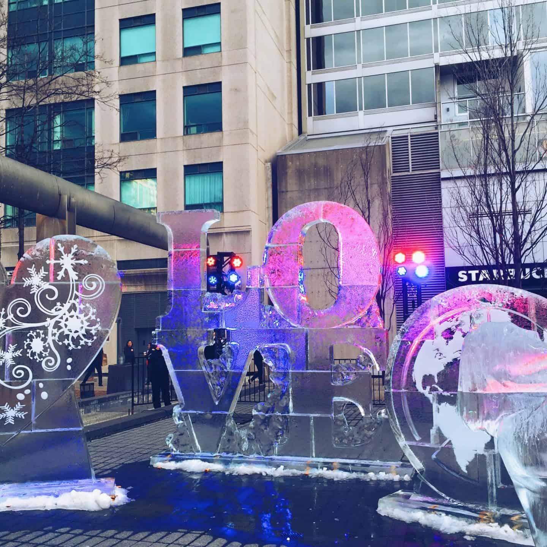 Bloor-Yorkville Icefest in Toronto