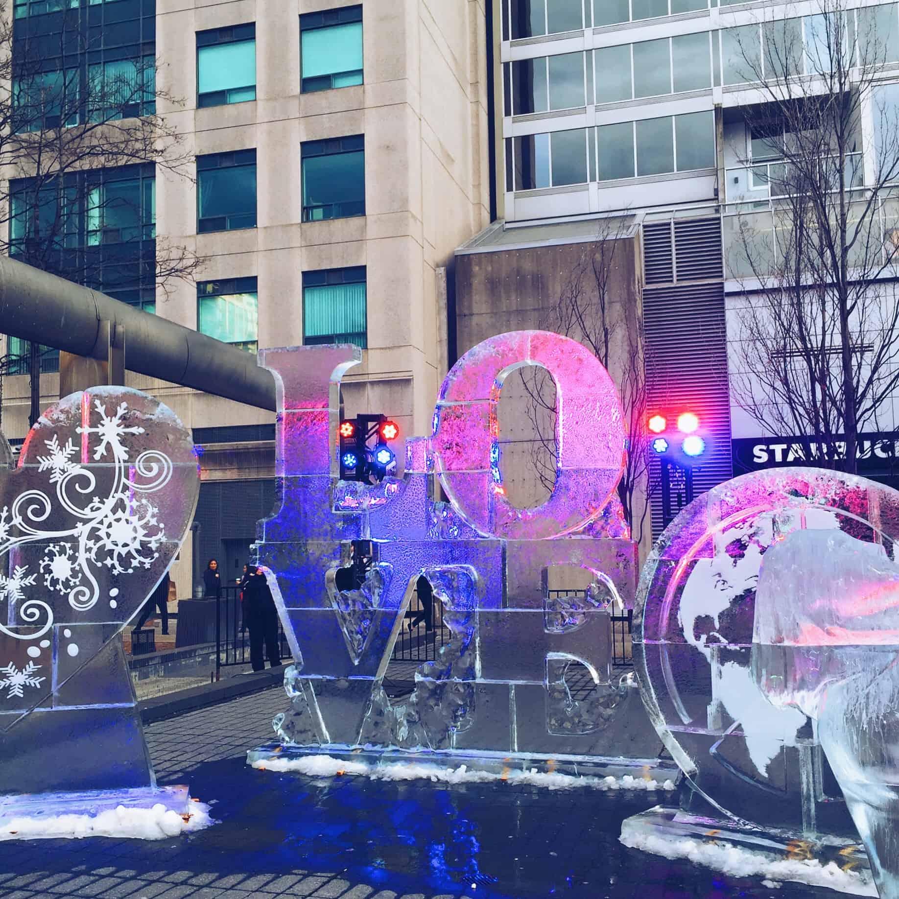Bloor Icefest Sculptures 2016