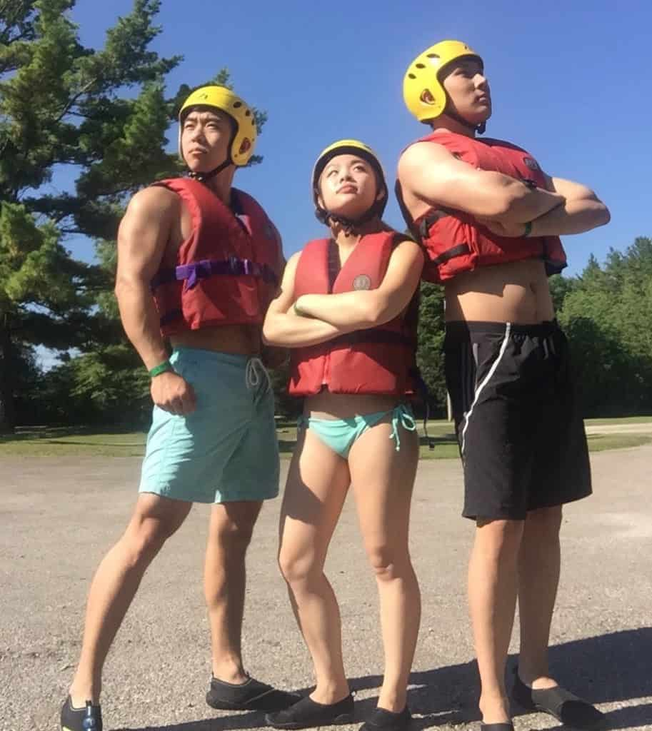 Tubing at the Elora Gorge