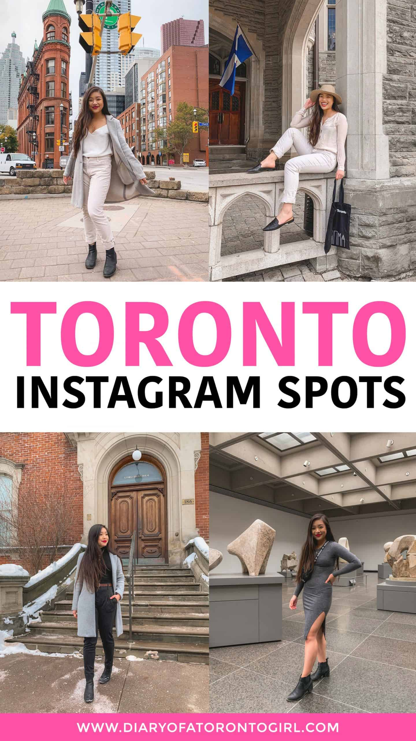 Looking to up your Instagram game? Here's a list of some of the cutest and most Instagram-worthy spots to visit in Toronto, Canada!