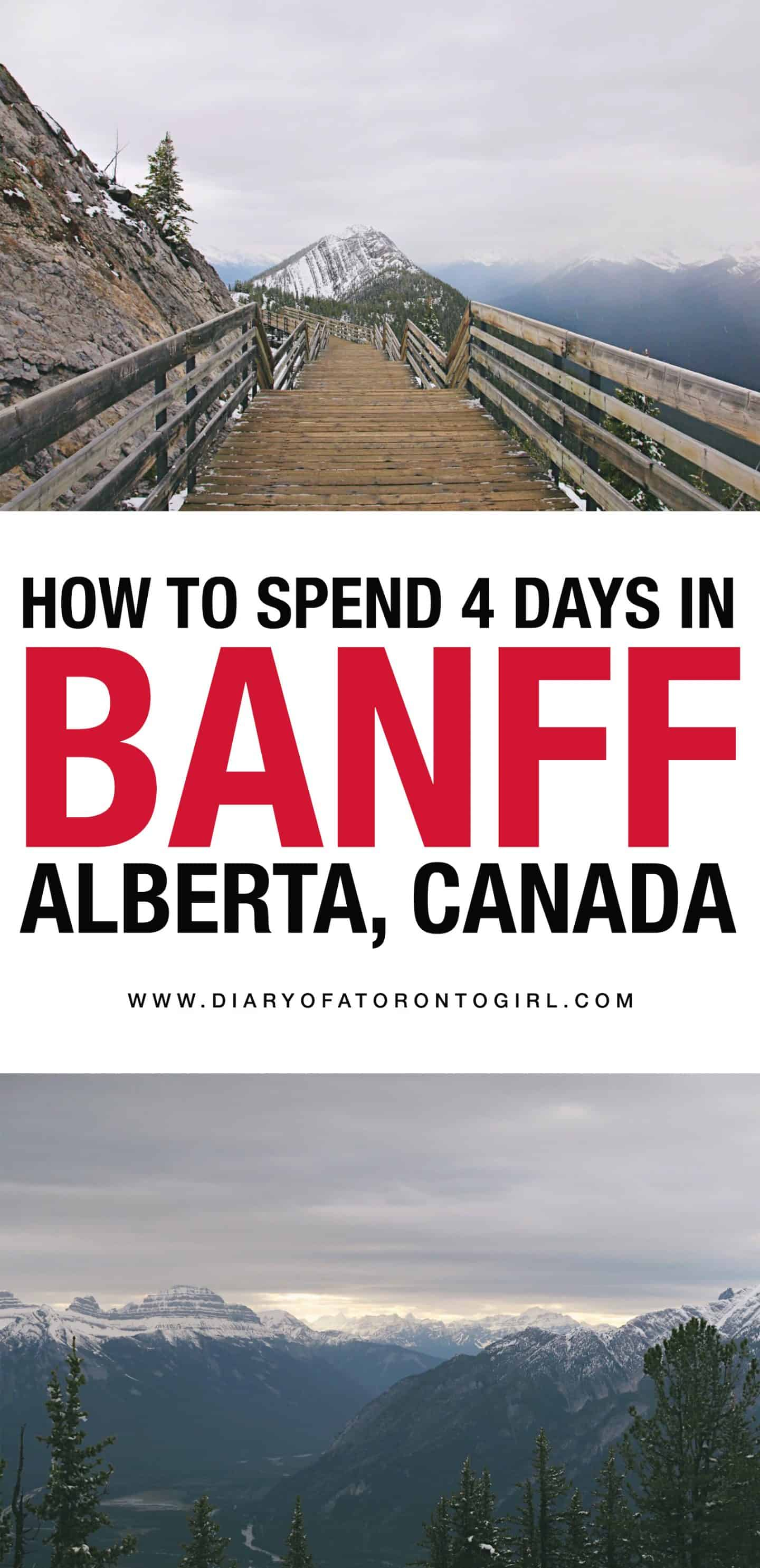 Planning a visit to Banff and Jasper National Parks in Alberta, Canada? Here's your guide on how to do the ultimate Banff road trip in 4 days!
