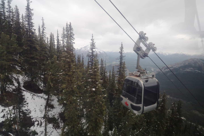 Banff Gondola in Alberta