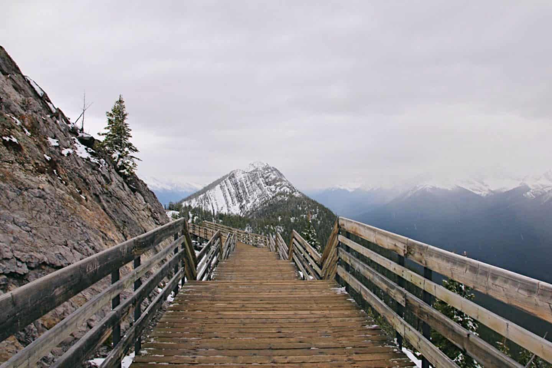 Banff Gondola to Sulfur Mountain, Alberta