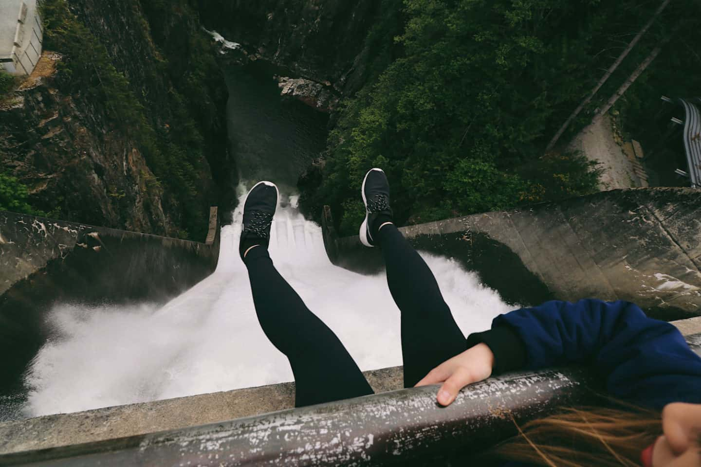 Cleveland Dam, North Vancouver, British Columbia