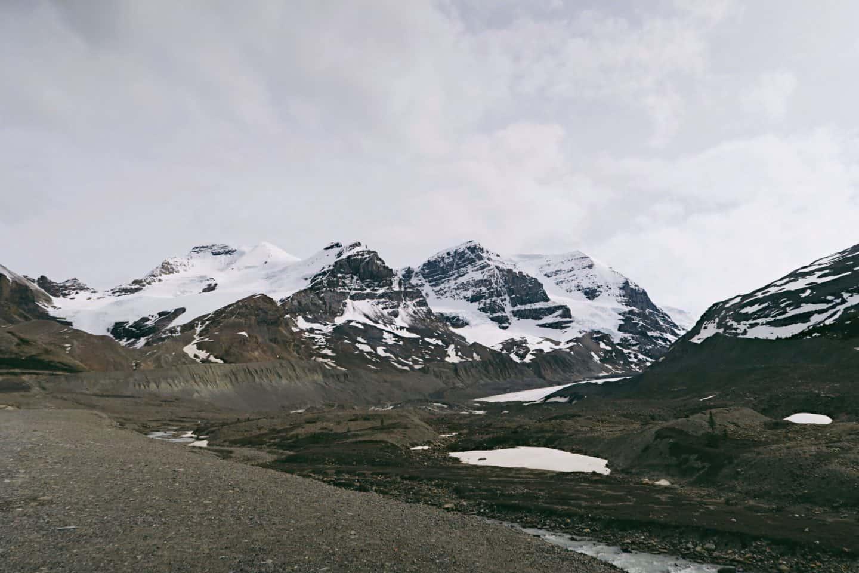 Columbia Icefield in Banff, Alberta