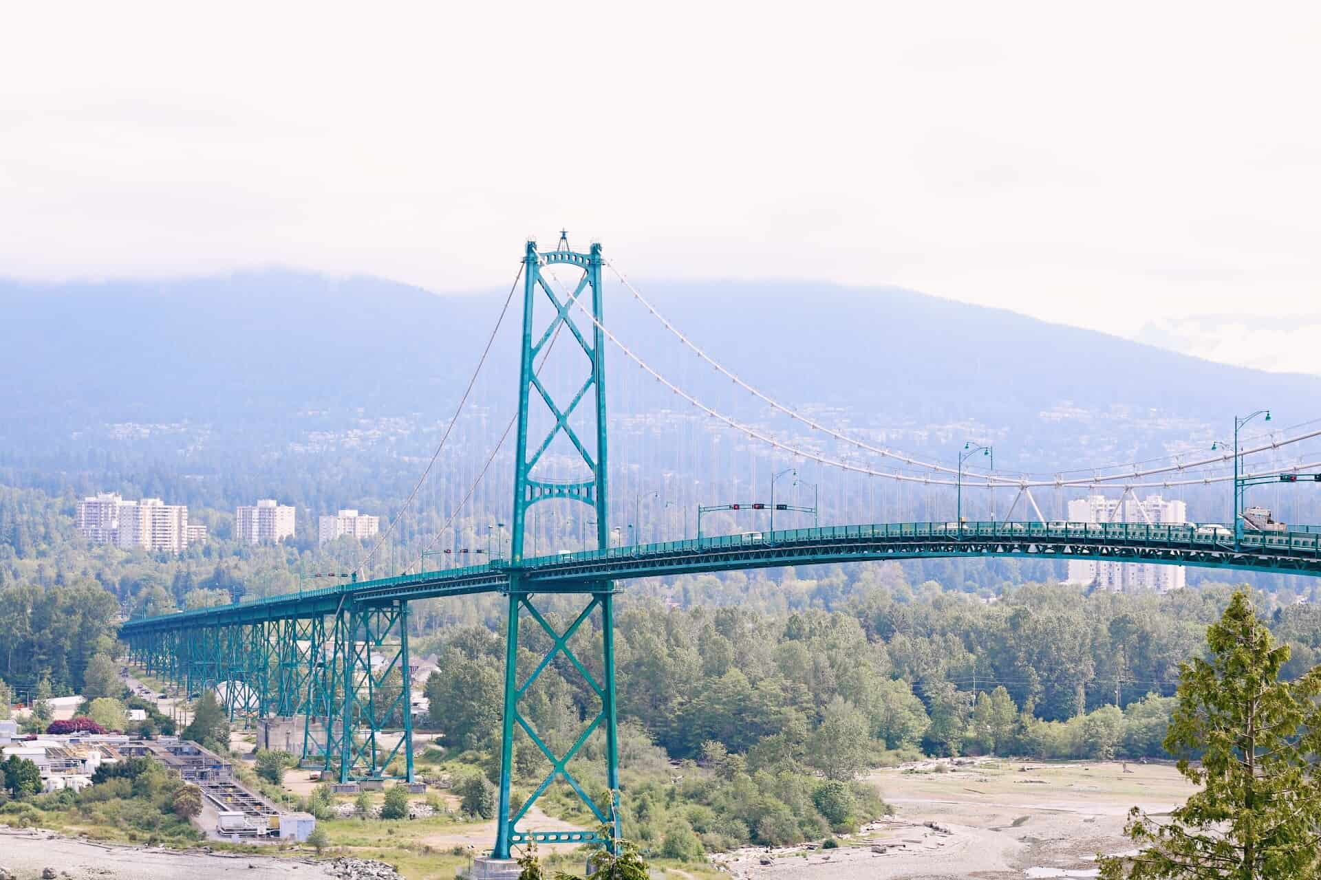 Lions Gate Bridge, Stanley Park Seawall | Vancouver, British Columbia | best things to do in Vancouver, BC