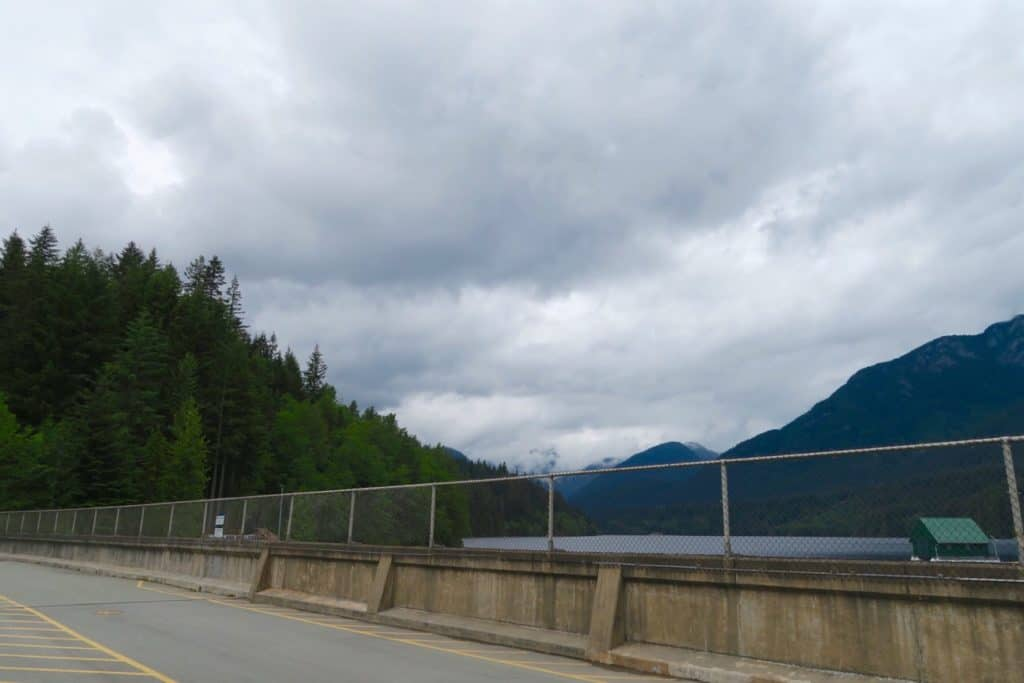 Cleveland Dam in Vancouver
