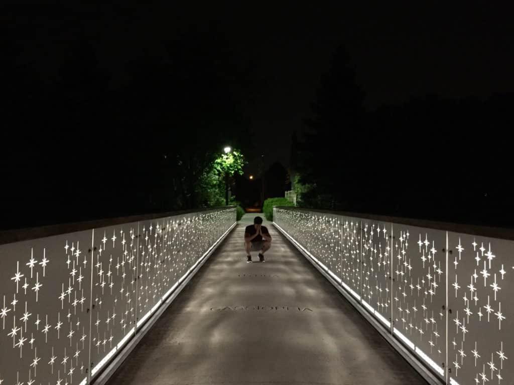 Weldrick & NightStar Bridge in Richmond Hill