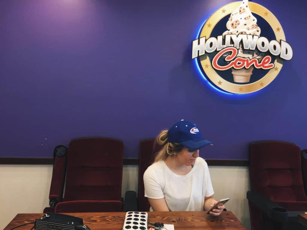 Hollywood Cone dessert shop in Oshawa, Ontario