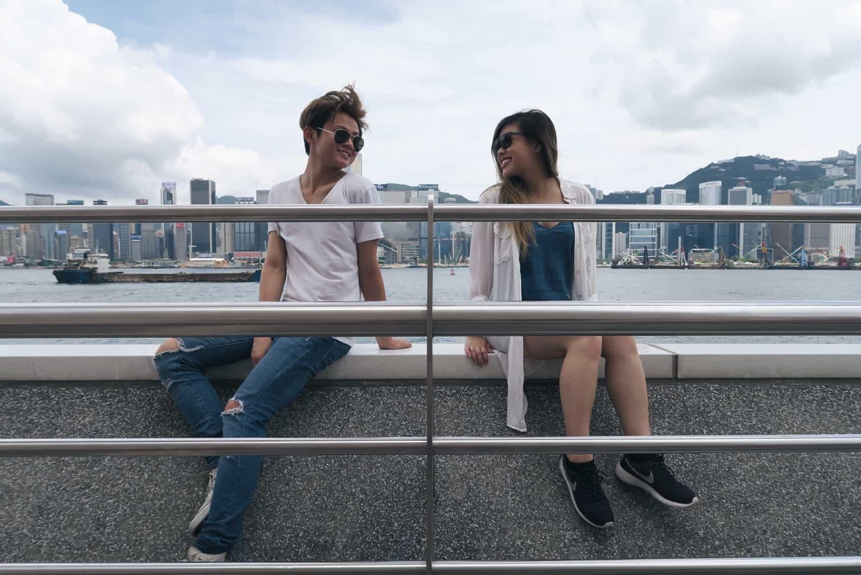 Hong Kong Victoria Harbour Daytime