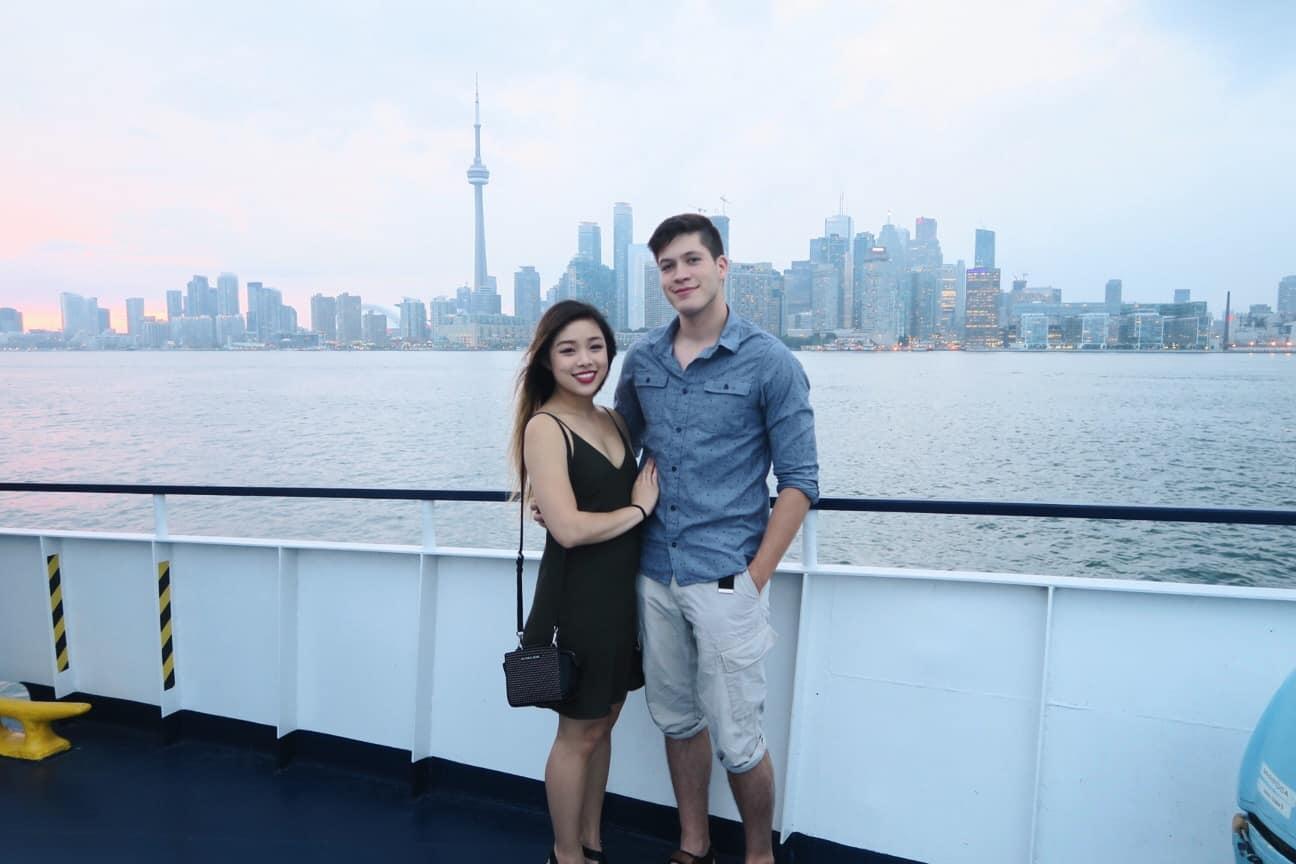 Toronto skyline view from Mariposa Cruises