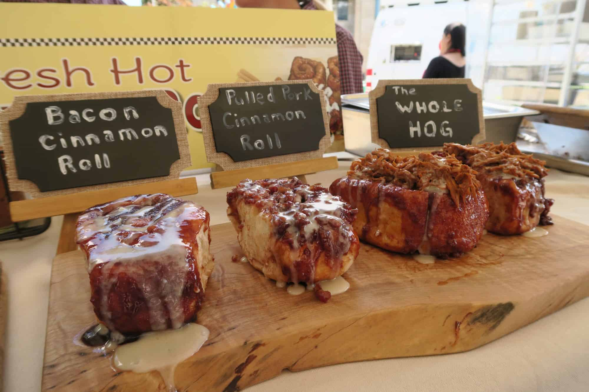 CNE Bacon Cinnamon Rolls