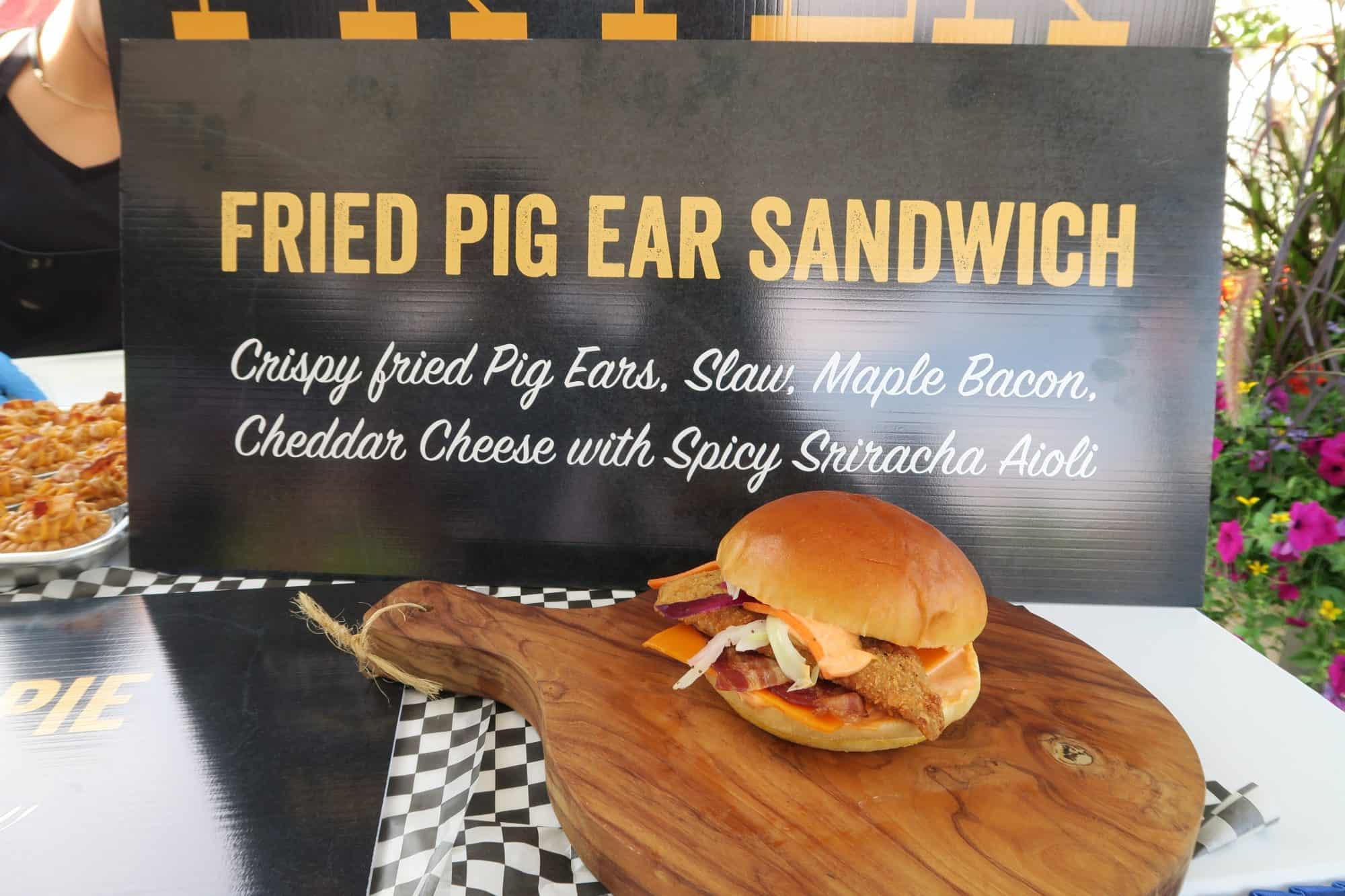 CNE Pig Ear Sandwich