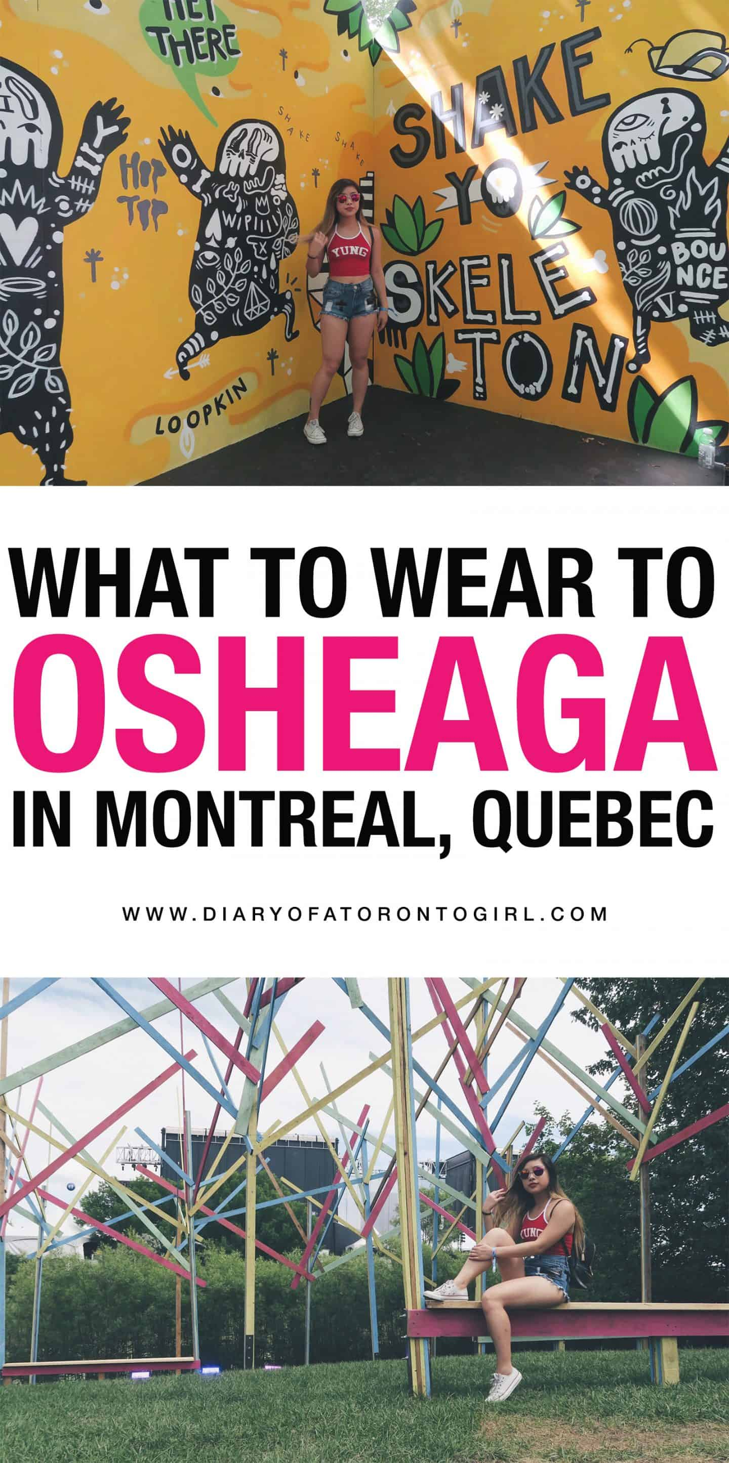 Looking for Osheaga outfit ideas? Here is some inspiration on what to wear to the Osheaga Music Festival in Montreal, Quebec!