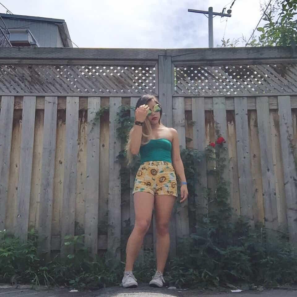 Outfit for Osheaga Music Festival, Montreal