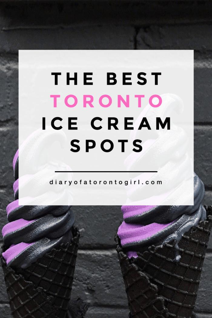 The best ice cream spots in Toronto