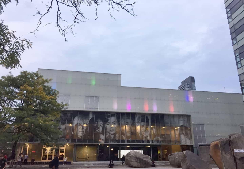 Ryerson Image Arts building in Toronto
