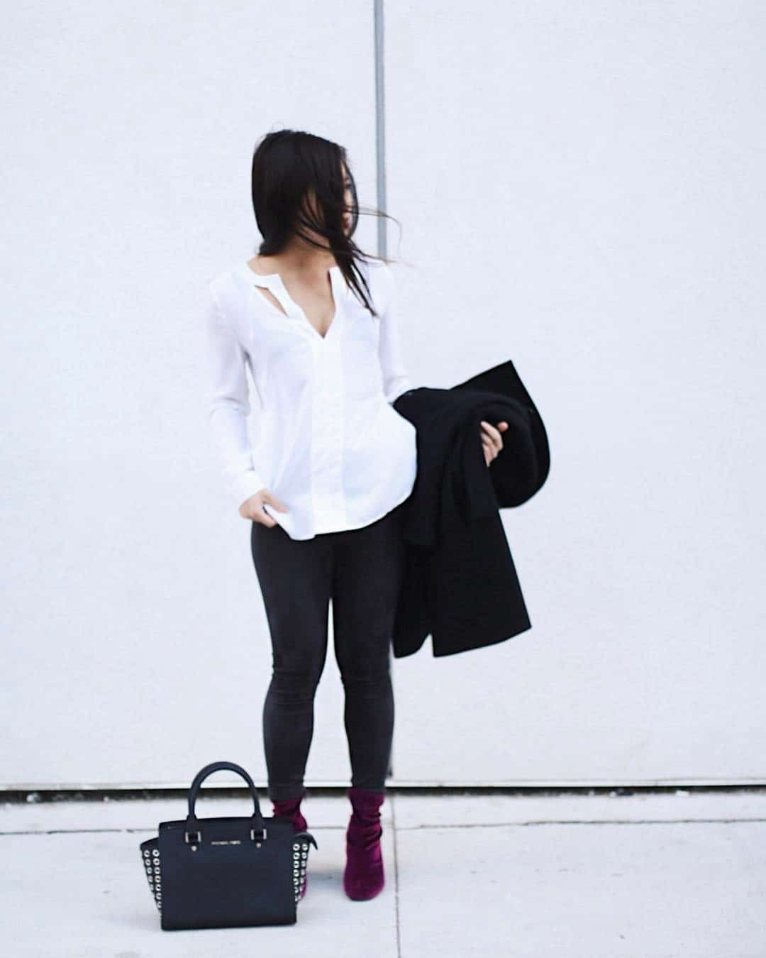 Simple fall work outfit