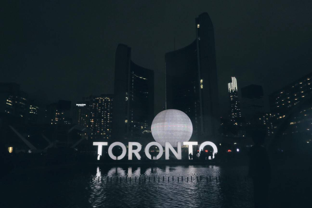 Nuit Blanche in Toronto