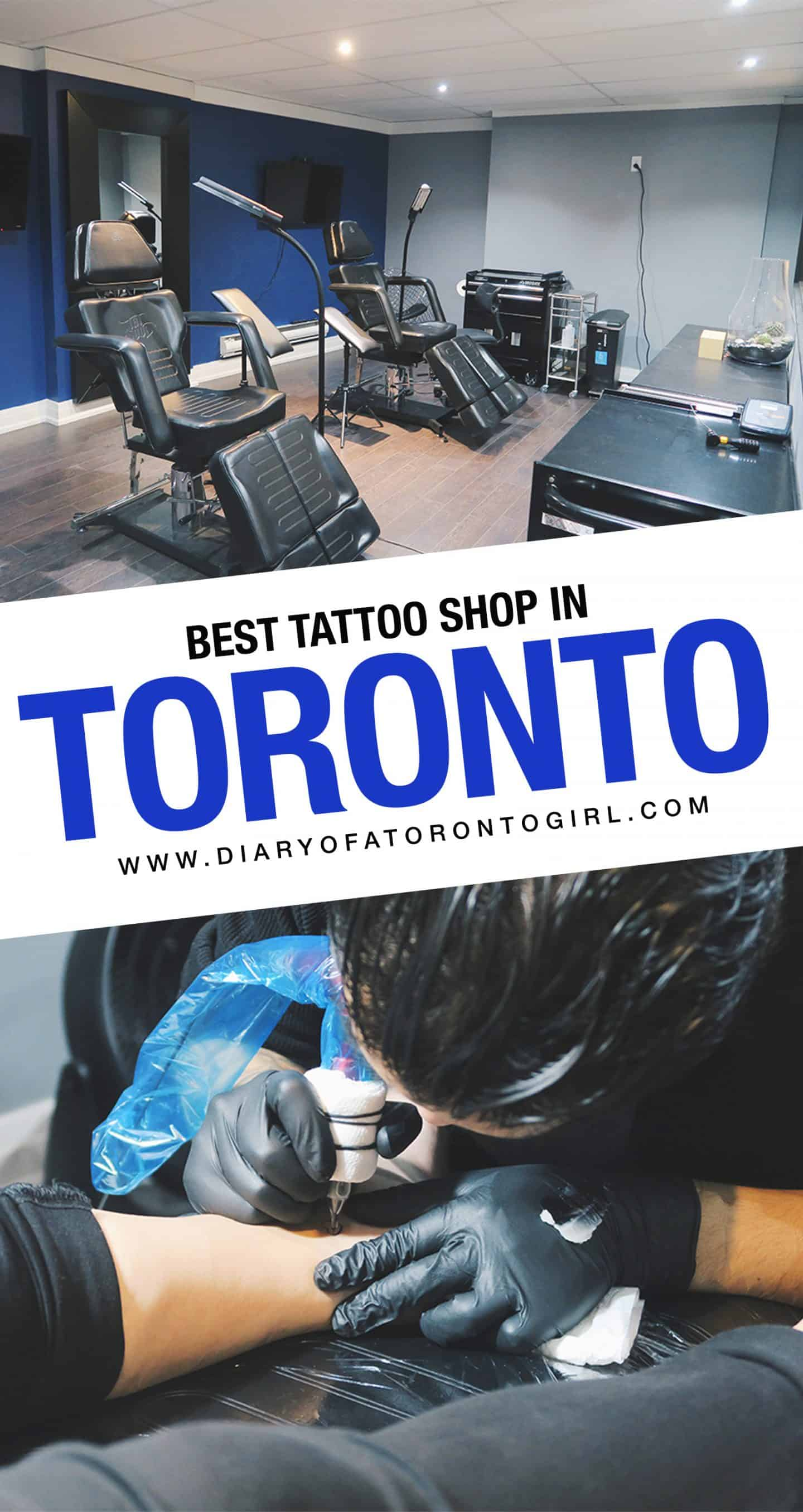 Planning on getting a tattoo done in Toronto? Here's one of the best tattoo shops to visit in Toronto, Ontario!
