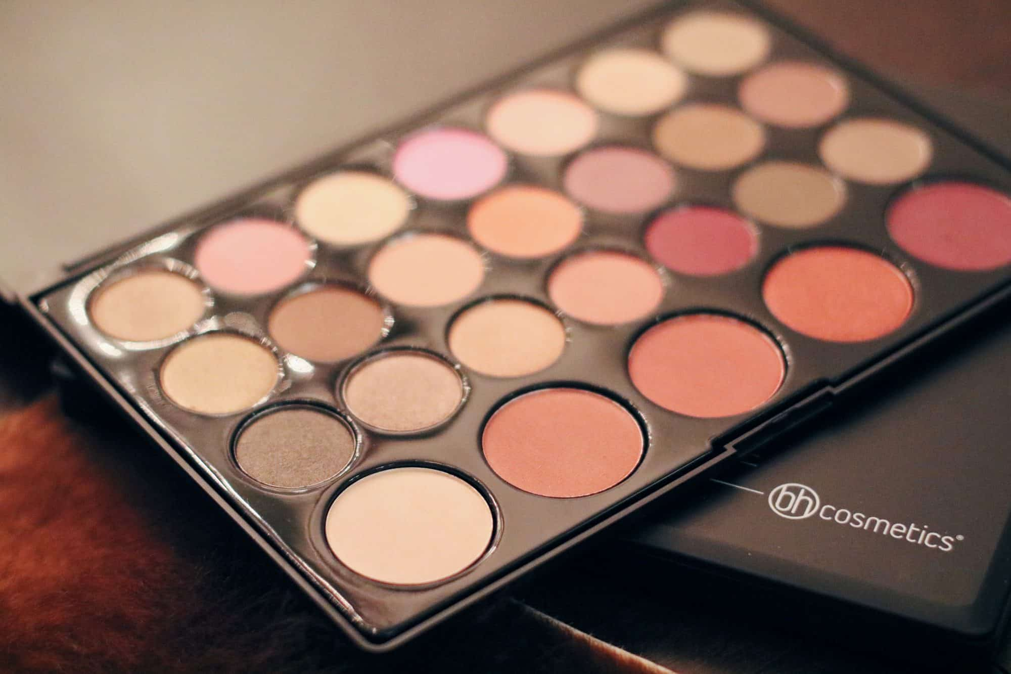 Bh Cosmetics  Neutral Color Eyeshadow Palette Review