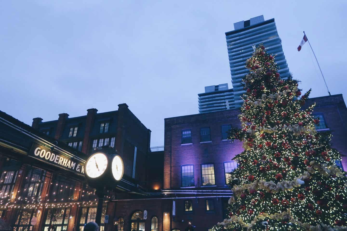 How to spend a perfect day exploring Toronto's historical Distillery District, including the best activities and restaurants to visit!