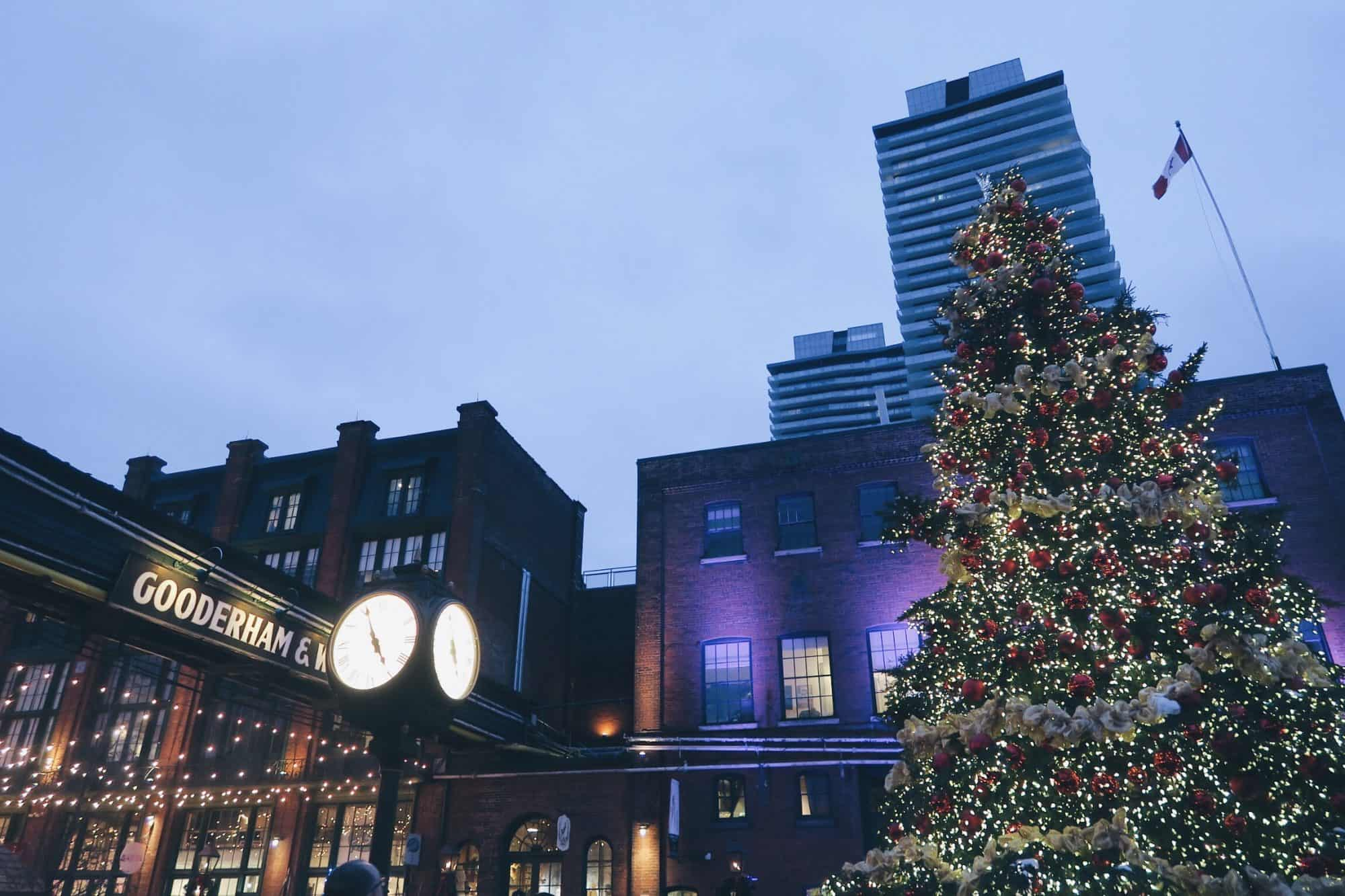Festive Toronto spots to visit during the holidays