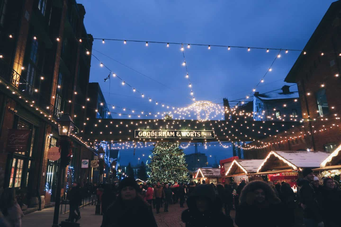 Christmas in the Distillery District