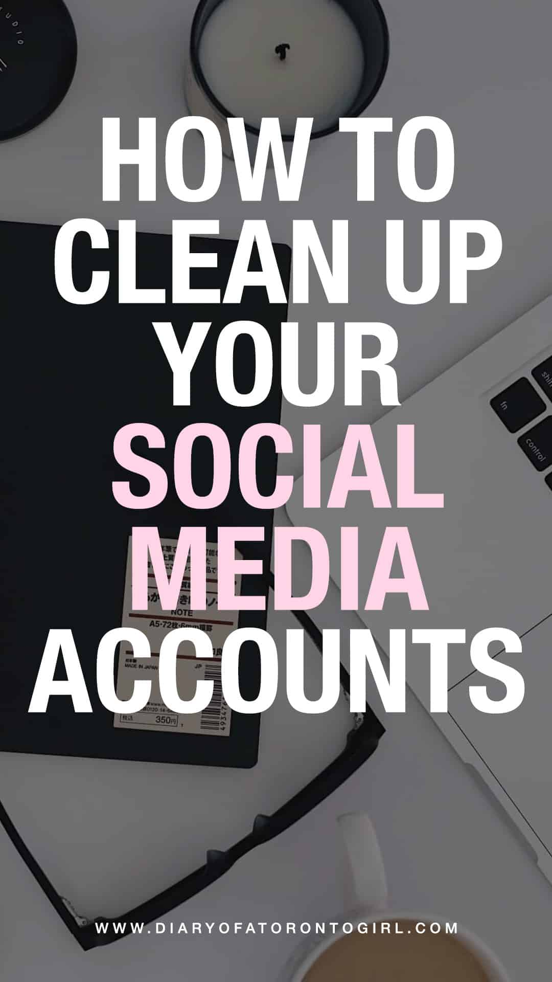 Whether you're job hunting or looking for an internship, here are some helpful tips on how to clean up your social media accounts and online presence!