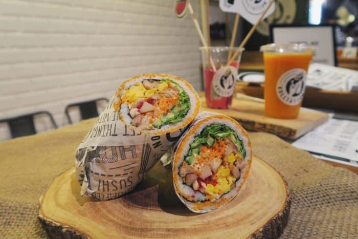 Rolltation Sushi Burrito