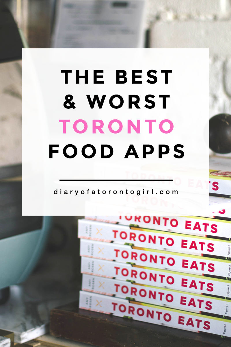 The best and worst Toronto food apps to download, including both delivery and pre-order apps.