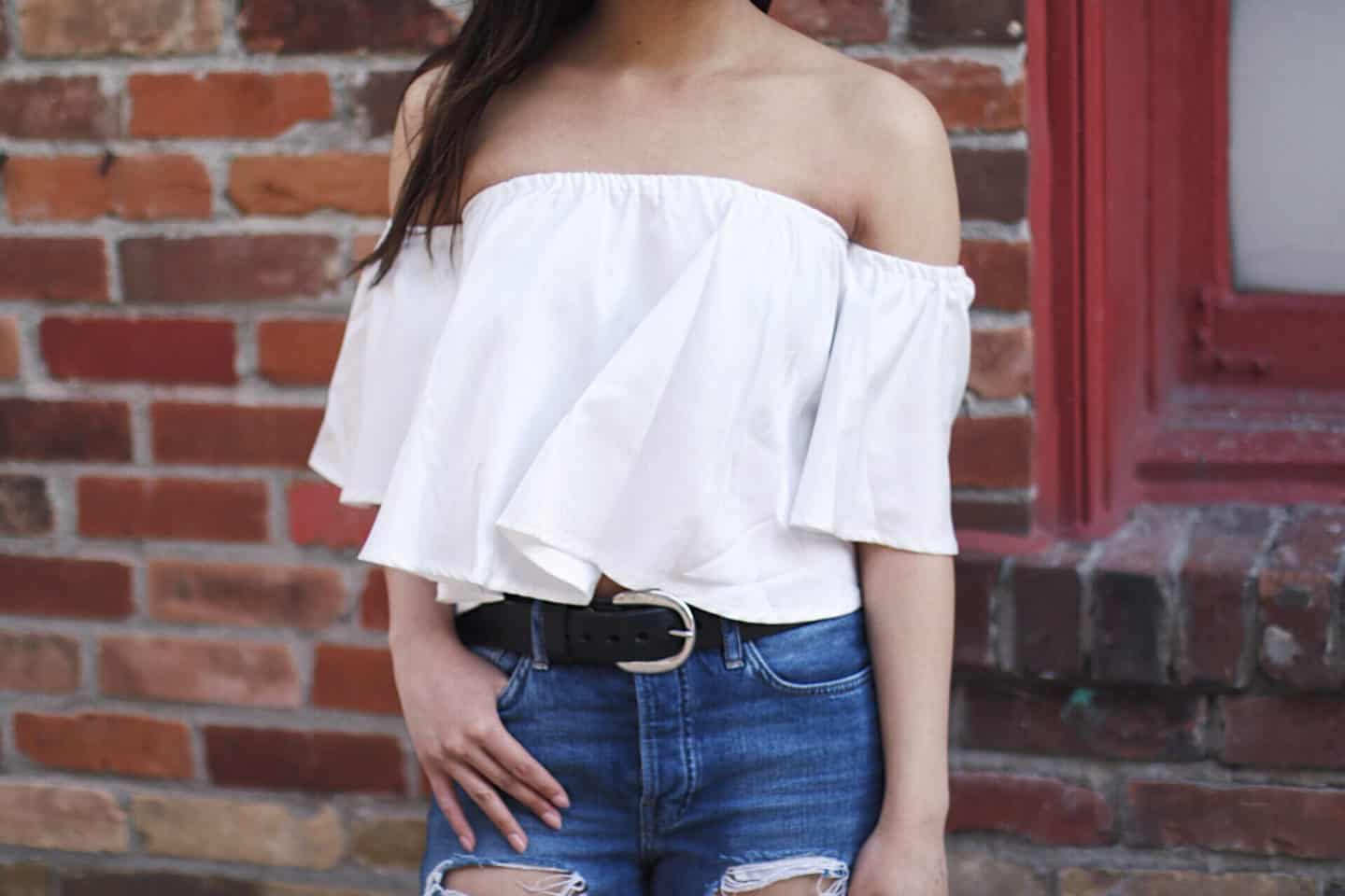 Spring Style: Off the Shoulder Tops
