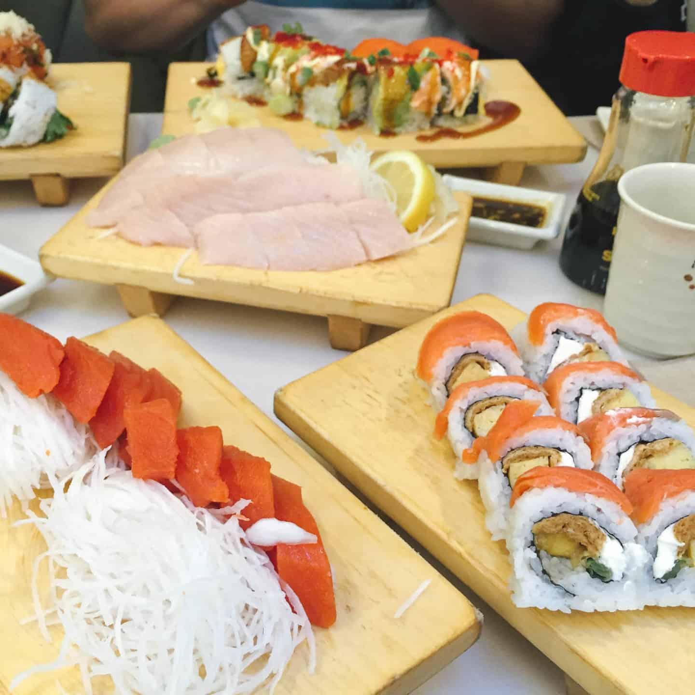 Sushi California in Vancouver, British Columbia
