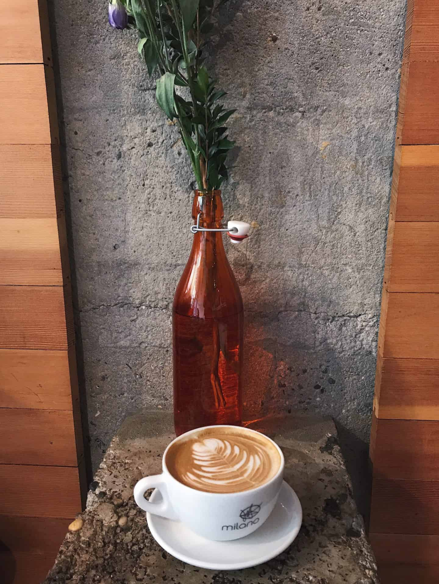 Milano Coffee Roasters in Vancouver, British Columbia