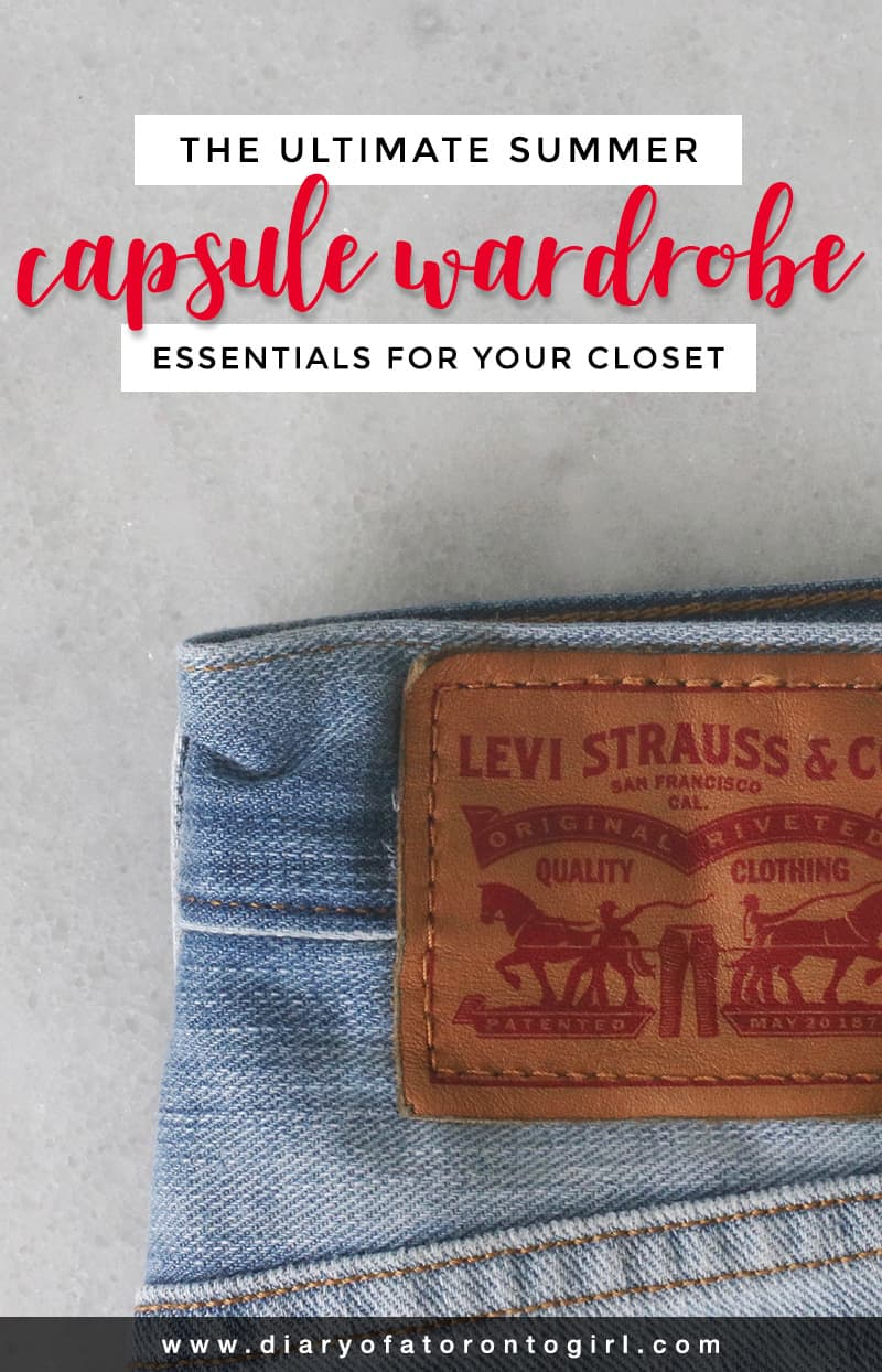Looking to invest in a capsule wardrobe that'll last you for years to come? Here's the ultimate guide to building a summer capsule wardrobe!