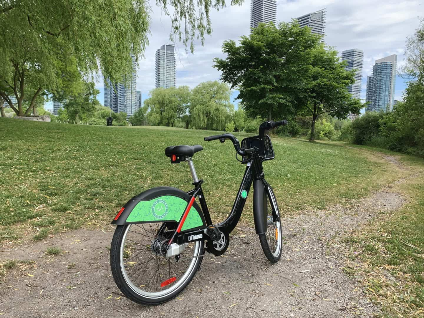 Bike Share on the Toronto Waterfront Trail