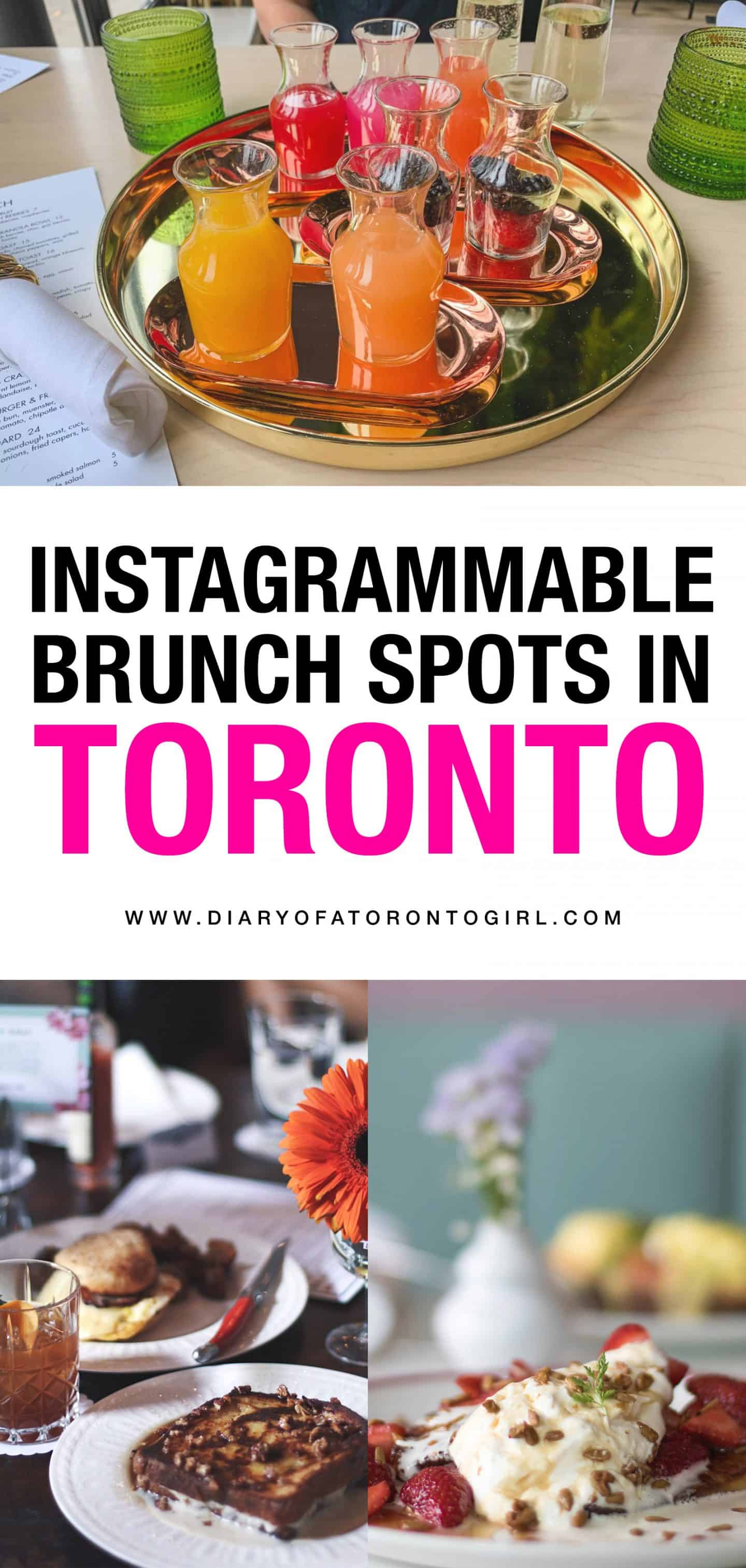 From healthy vegan chia seed pudding to hearty blueberry pancakes, you'll find all kinds of wonderful brunch spots in Toronto. Here are some of the best places to grab breakfast and brunch in the city!