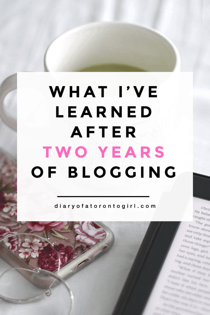 Lessons I've learned after blogging for two years.